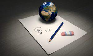 Bulb implying new ideas
