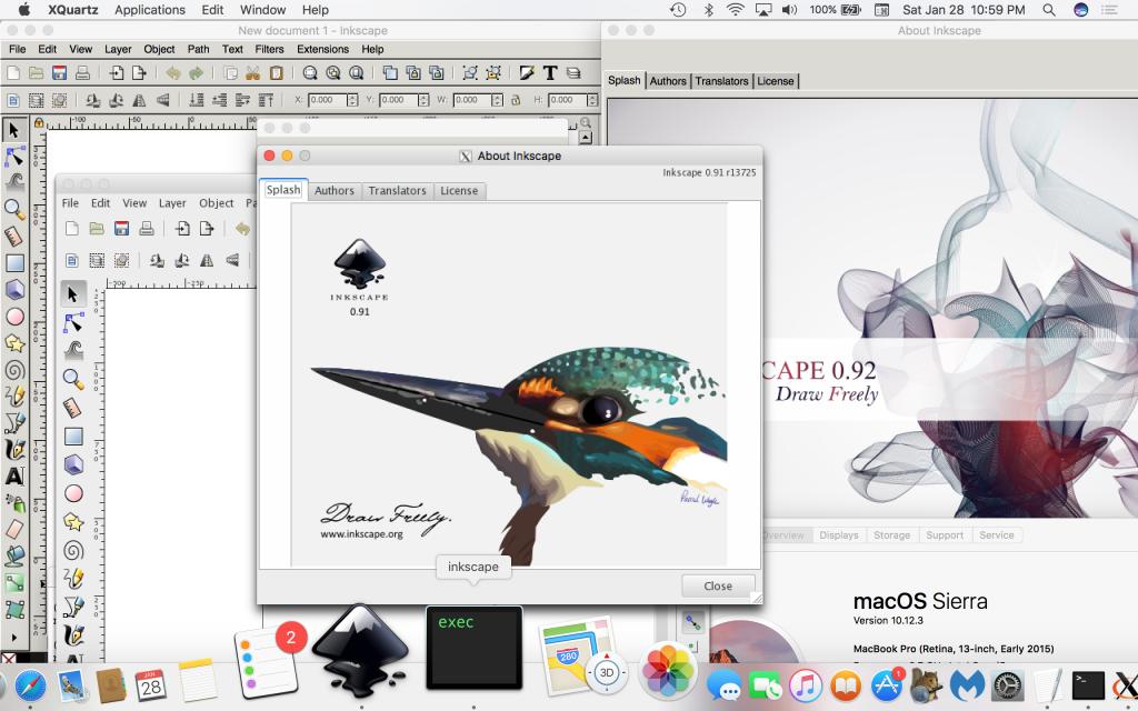 Freelancing - Inkscape