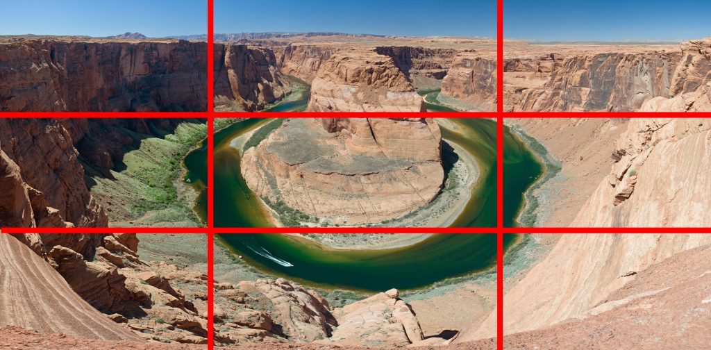 Freelancing - Rule Of Thirds Grand Canyon Horse Shoe Bend Mc