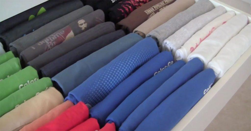 Freelancing - Folding Clothes