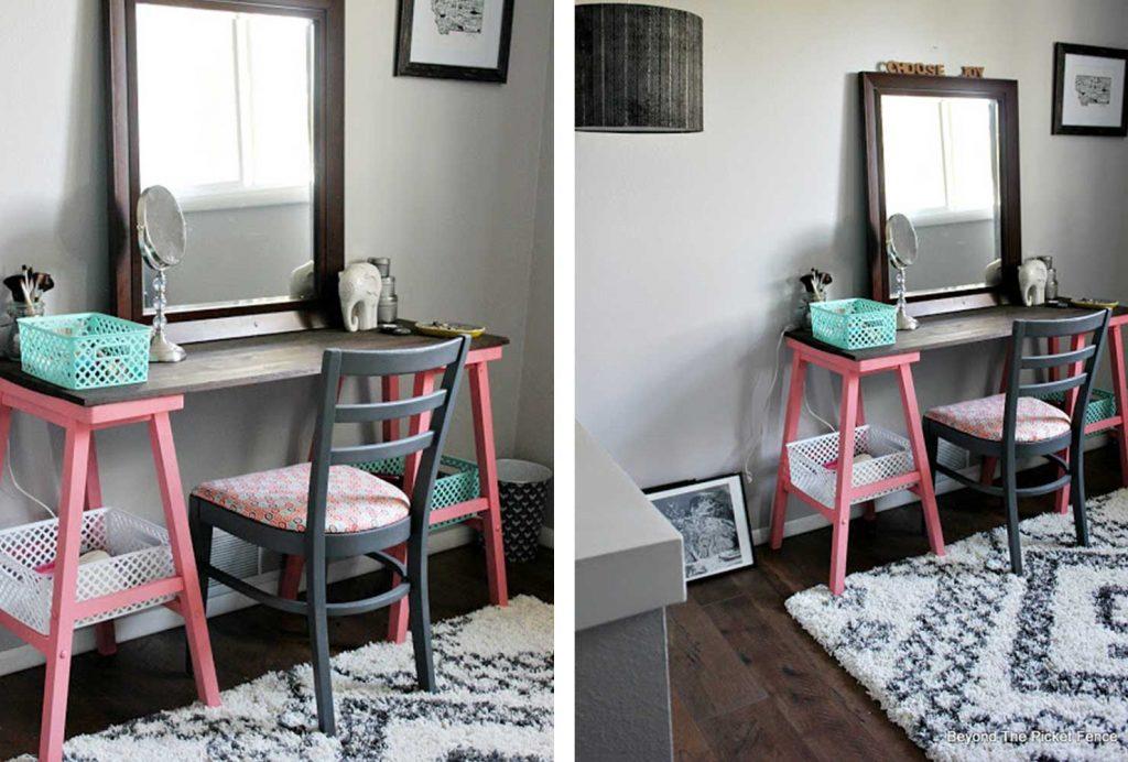 Freelancing - Mesmerizing Teen Room Design Gallery Of A Wooden Vanity In A 574
