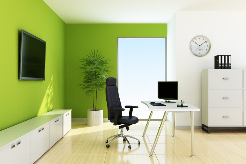 Freelancing - green office