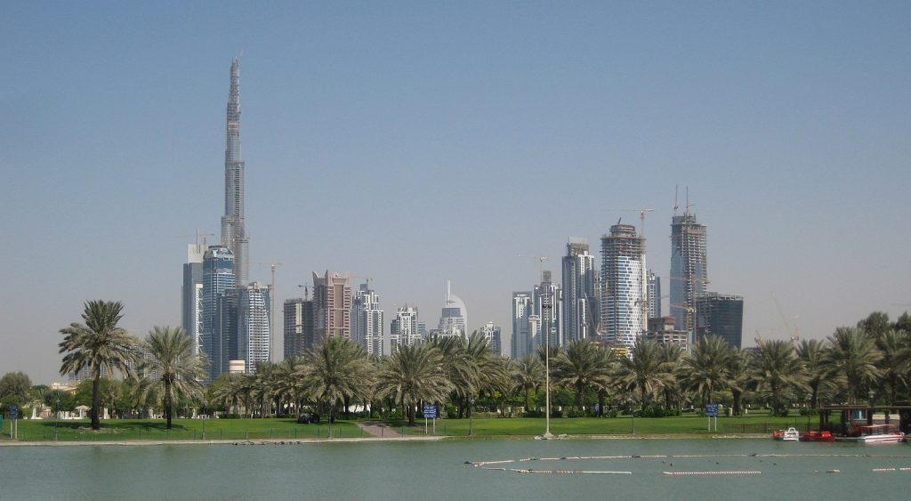 Freelancing - 1600Px Downtown Burj Dubai And Business Bay Seen From Safa Park