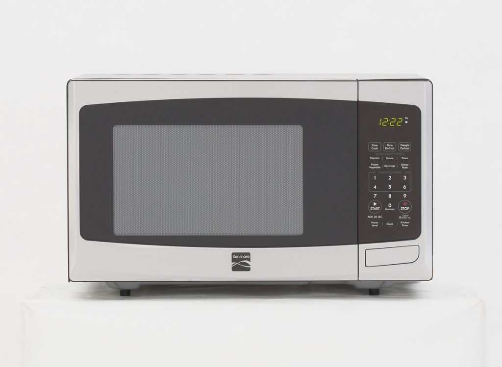 Freelancing - Consumer Reports Kenmore Microwave Oven.tif