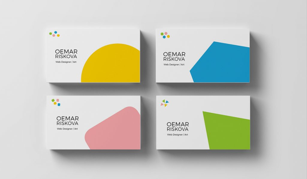 The 10 Most Creative Business Card Designs Of All-Times With Eye-Catching Designs // Freelance Graphic Designers in Dubai