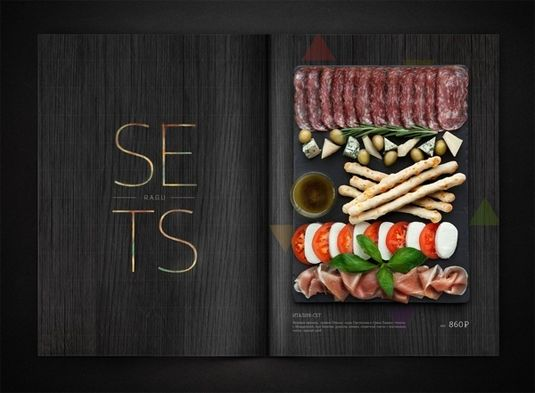 10 Creative Food Menu Designs That Should Inspire Graphic Designers