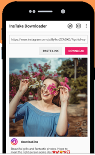 Freelancing - Instake Downloader